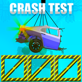 Elastic Car Crash Test Simulator icon