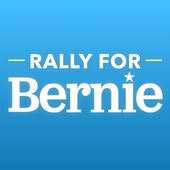 Rally - Bernie Sanders icon
