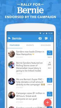 Rally - Bernie Sanders poster