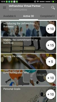 UnFranchise Virtual Partner screenshot 1