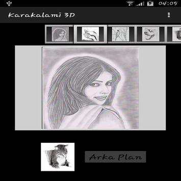 Karakalemi 3D poster