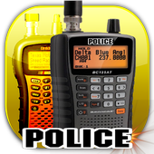 Police Radio Scanner 3D icon