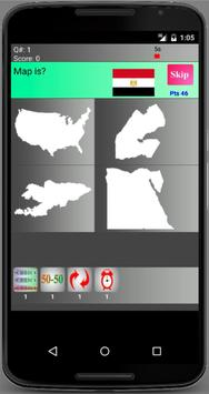 Country Maps Ultimate Trivia apk screenshot