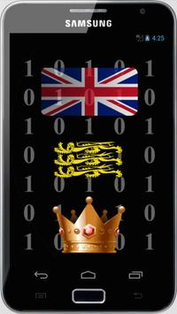 British Monarchy and Stats poster