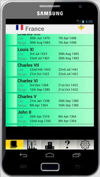 France Monarchy and Stats apk screenshot