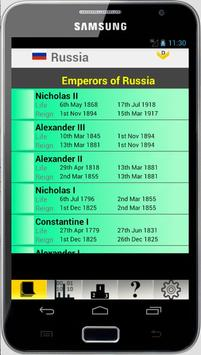 Russia Monarchy and Stats screenshot 1