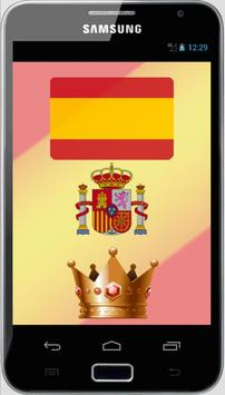 Spain Monarchy and Stats poster