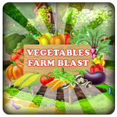 Vegetables Farm Blast icon