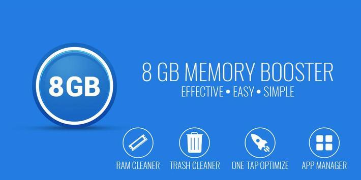 8 GB RAM Memory Booster Mod