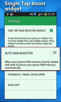 RAM Booster Pro screenshot 1