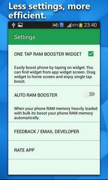 RAM Booster Pro screenshot 2