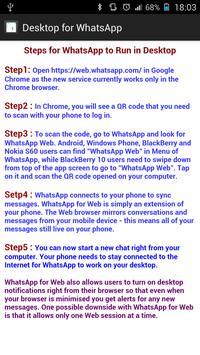 Dual for WhatsApp Steps apk screenshot