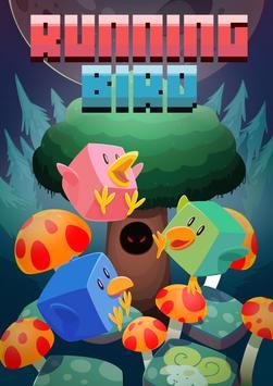 Running Bird poster