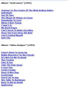 Ramones Lyrics screenshot 1