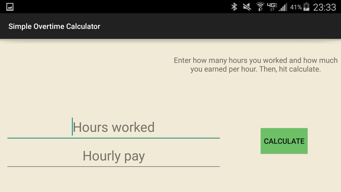 simple overtime calculator apk download free tools app for android