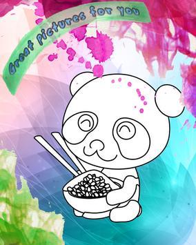 How To Color Panda baby Game screenshot 1