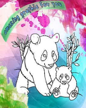 How To Color Panda baby Game screenshot 4