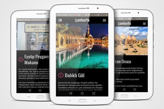 Şanlıurfa Şehir Rehberi apk screenshot