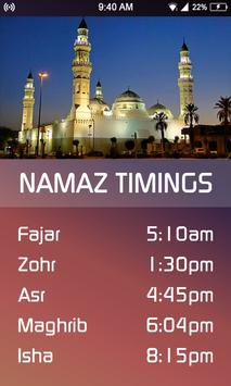 Ramzan Calendar prayer times & dua 2018 screenshot 2