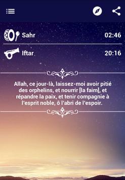 Calendrier Ramadan apk screenshot