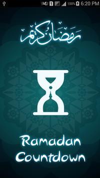 Ramadan 2019 Countdown poster