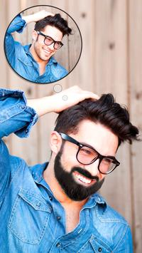 360 Man Hair Mustache Style poster