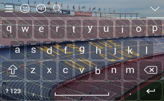 fbce keyboard bercalone Theme fans Emoji poster