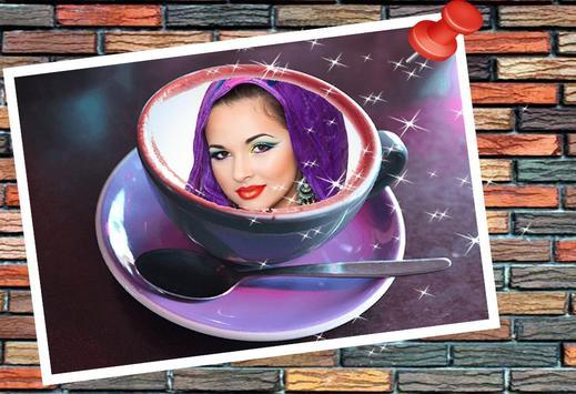 ضعي صورتك في فنجان قهوة (جديد) poster