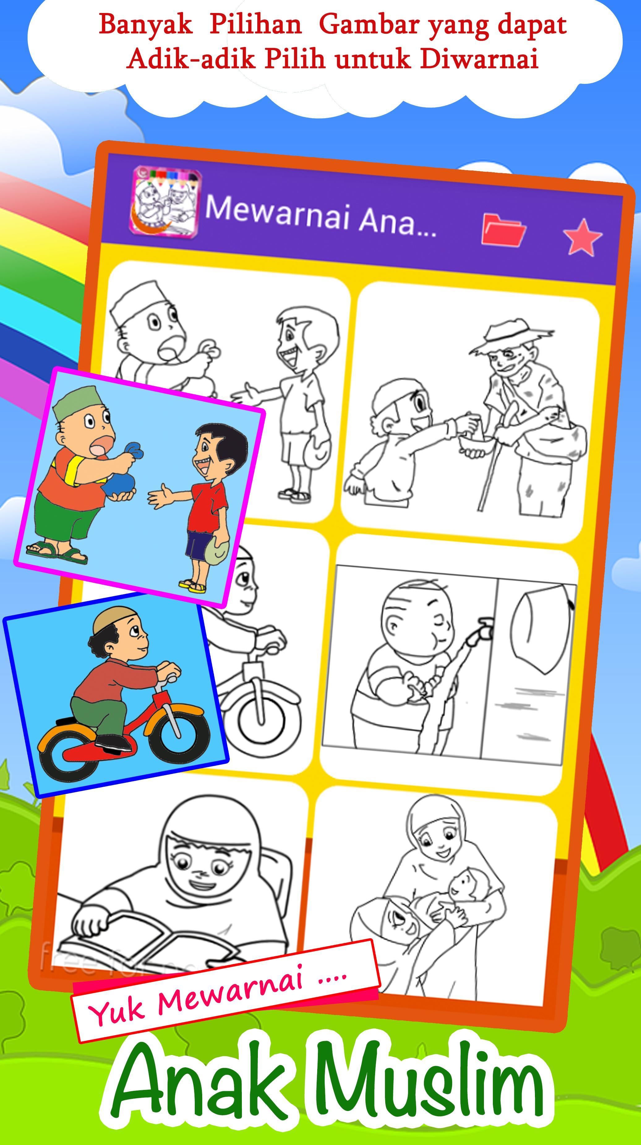 Mewarnai Untuk Anak Islam Terbaru For Android APK Download