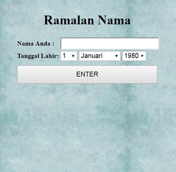 Ramalan nama for android apk download ramalan nama screenshot 3 reheart Image collections
