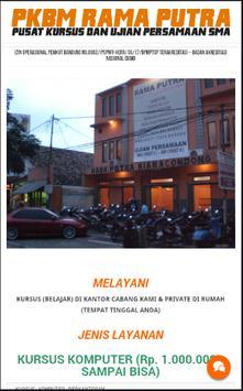 Kursus dan Persamaan Bandung poster