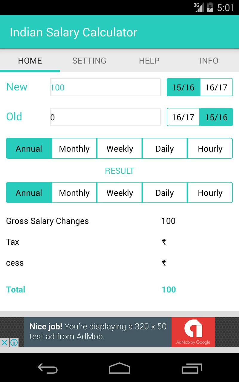 Salary Calculation for Android - APK Download