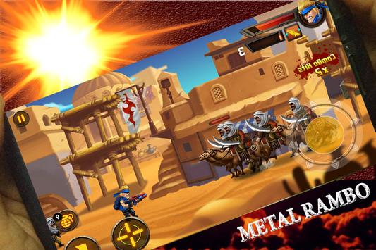 Metal Rambo War Soldier screenshot 1