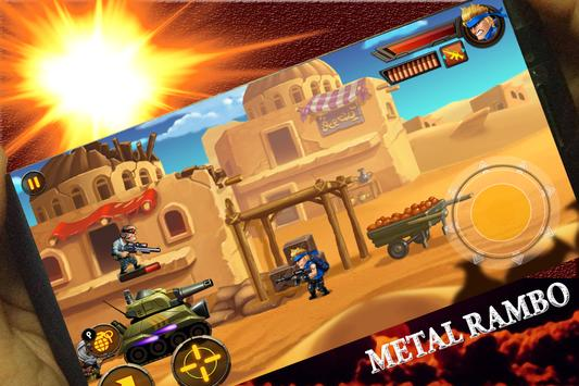 Metal Rambo War Soldier screenshot 2