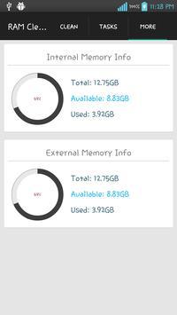 Super Ram Cleaner apk screenshot