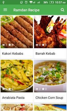 Recipe Book : Ramadan Recipes- Halal recipe poster