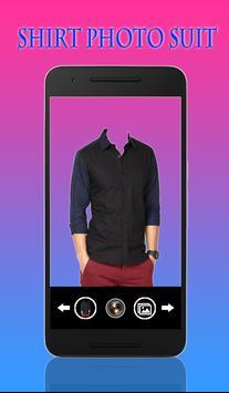 Man Shirt Photo Suit poster