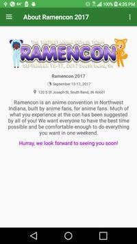 Ramencon Booklet poster