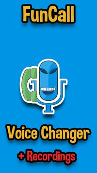 Funcall - In Call Voice Changer & Call Recordings poster