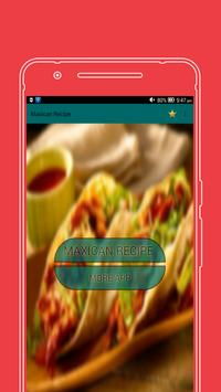 All in One Maxican food Recipe poster