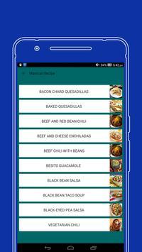 All in One Maxican food Recipe screenshot 1
