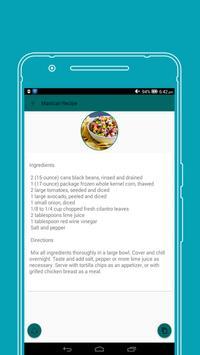 All in One Maxican food Recipe screenshot 2