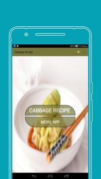 Cabbage recipes poster
