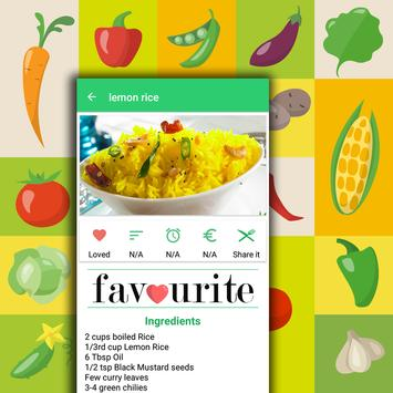 Rice Recipes in Hindi apk screenshot