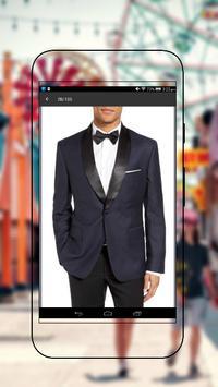 Stylish Men Suit Design poster