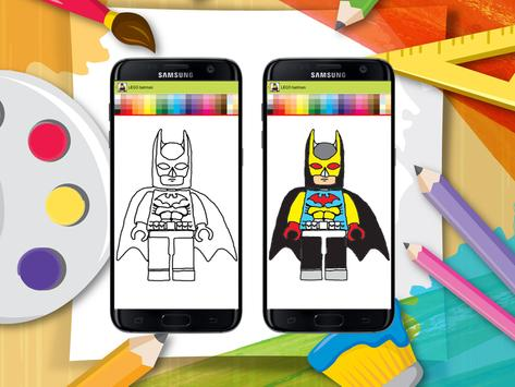 How to Draw LEGO Batman apk screenshot