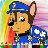 How To Draw Paw Patrol Game icon