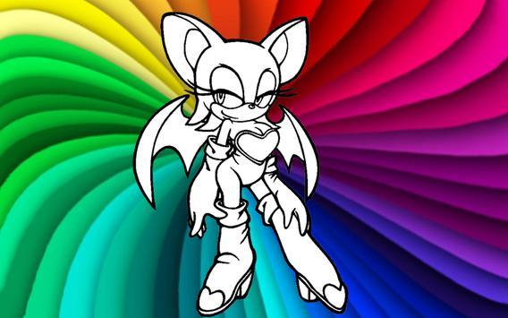 How To Draw Sonic The Hedgehog apk screenshot