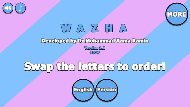 Wazha poster
