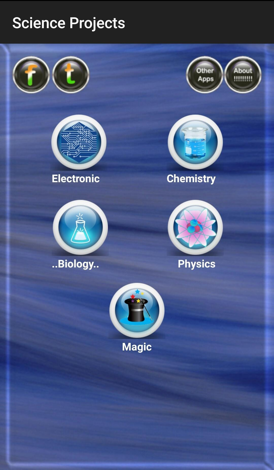 Science Project for Android - APK Download